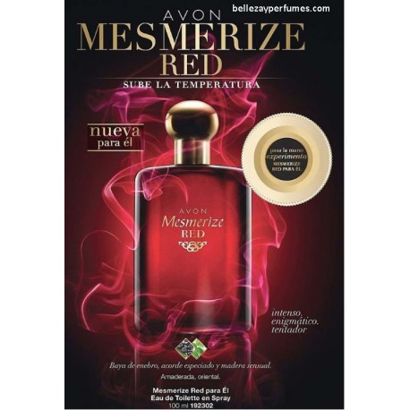 Mesmerize Red para el Eau de toilette en spray