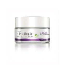 Crema de ojos multi-acción Ageless Avon nutraeffects