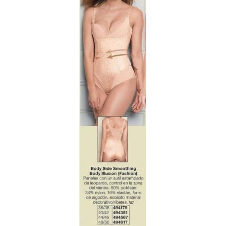 Body Side Smoothing Body Illusion