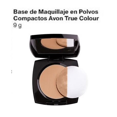 Base de maquillaje en polvos compactos True colour
