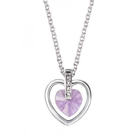 Collar Ailis Heart con Cristales Swarovski