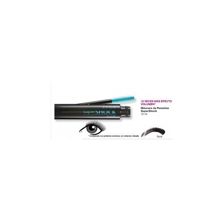 Mascara de pestañas SuperShock avon