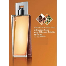 Attraction Rush para él Eau de Toilette en spray