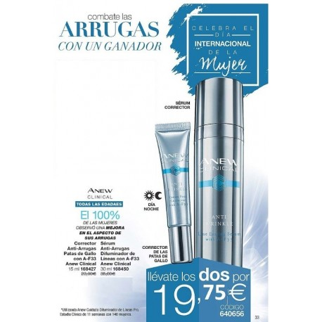 Pack Arrugas Anew Clinical