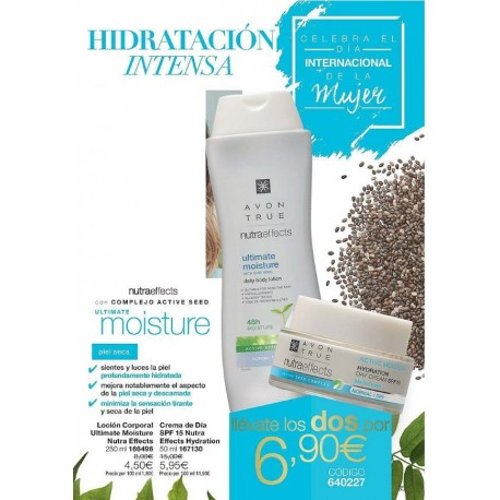Pack Hidratación Intensa Nutraeffects