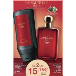Pack Mesmerize Red para Él