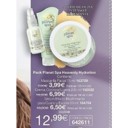 Pack Heavenly Hydration Avon Planet Spa