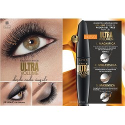 Máscara de Pestañas Ultra Volume Lash Magnify Avon True Colour