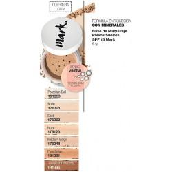 Base de Maquillaje Polvos Sueltos SPF 15 Mark