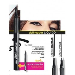 Delineador de ojos liquido Big Graphic Mark