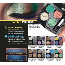 Mini Paleta para Sombras de Ojos Epic Intense Mark