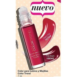 Color para labios y mejillas Avon Color Trend