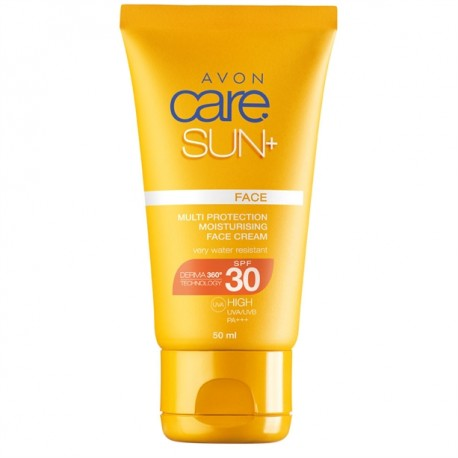 Crema Solar Facial Hidratante Multi-Protección SPF 30 Avon Care Sun