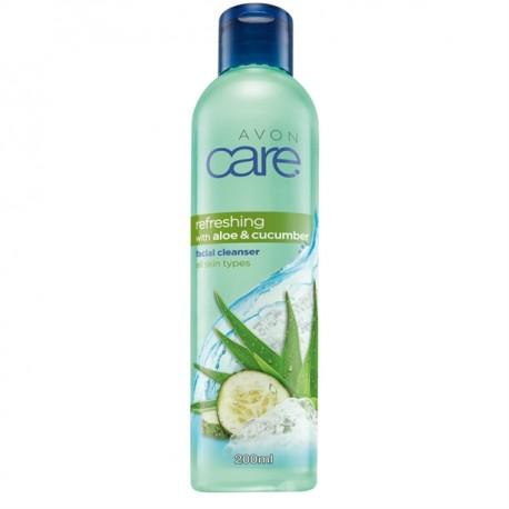 Gel Limpiador Refrescante Pepino y Aloe Avon Care