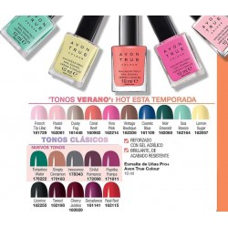 Esmalte de Uñas Pro+ Avon True Colour