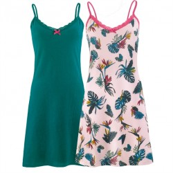 Conjunto de 2 Camisones Tropical