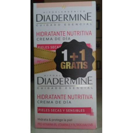 Hidratante nutritiva Crema de día 1+1 GRATIS