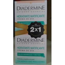 Hidratante Matificante Crema de día 1+1 GRATIS