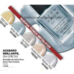 Esmalte de uñas Pro+ Metalicos Avon True Colour