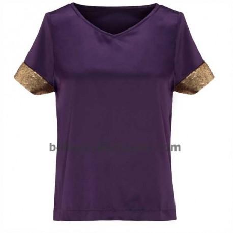 Camiseta Sequin Cap