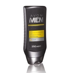Gel de afeitado revitalizante con complejo Skin care Avon men