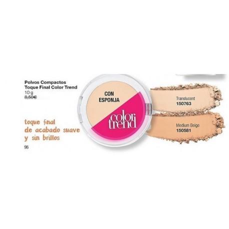Polvos compactos Toque final Avon Color Trend