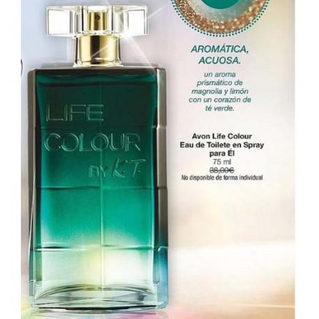 Avon Life Colour Eau de Toilette para Él