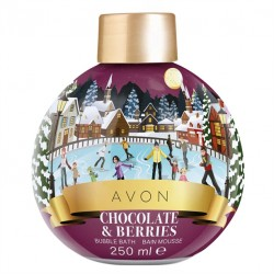 Espuma de Baño Chocolate y Frutos Rojos