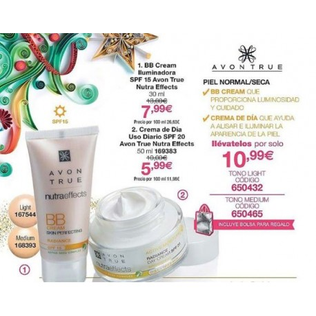 Pack Radiance Nutra Effects
