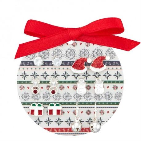 Conjunto de Pendientes Nordic Noel