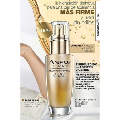 Aceite en Gel Silkened Anew Ultimate
