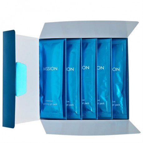 Mission Pack Mascarillas Gel Intensive Sparkling