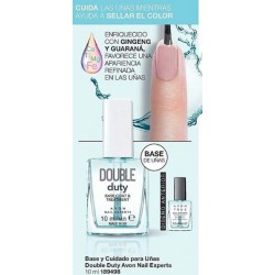 Base y Cuidado para Uñas Double Duty Avon Nail Experts