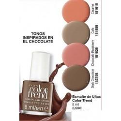 Esmalte de uñas Chocolate Color Trend