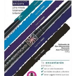 Delineador de Ojos Glimmerstick Brights Avon True Colour