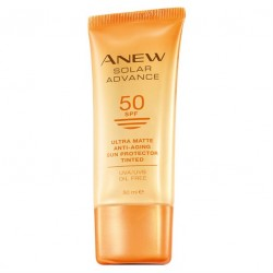 Protector Solar con Color SPF 50 Ultra Matte Anew Solar Advance