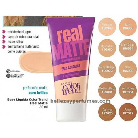 Base Líquida Color Trend Real Matte