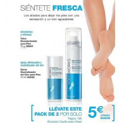 Pack Footworks Refrescante