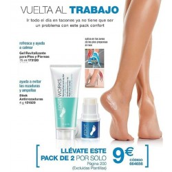 Pack Footworks Vuelta al trabajo