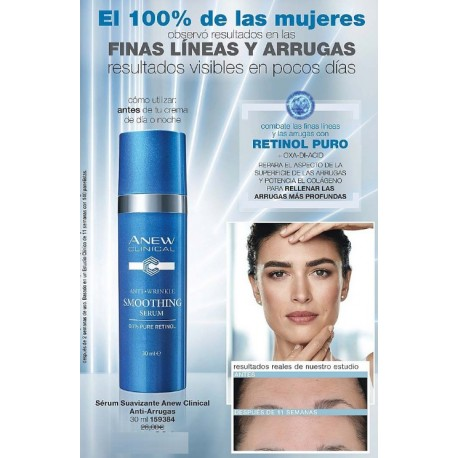 Sérum Suavizante Anew Clinical Anti-Arrugas