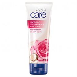Crema de Manos Agua de Rosa Radiante y Manteca de Karité