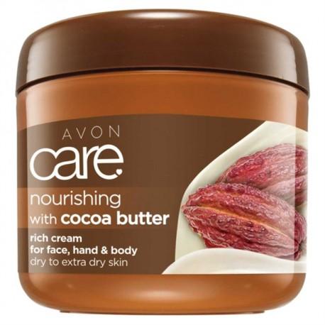 Crema Multiuso Nutritiva Manteca de Cacao Avon Care 400ml