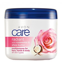 Crema Multiuso Avon Care Rosas Radiantes y Manteca de Karité 400ml