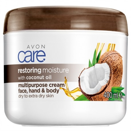 Crema Multiuso Aceite de Coco Avon Care 400ml