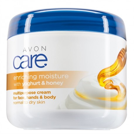 Crema Multiuso Miel y Yogur Avon Care 400ml