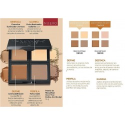Paleta de Maquillaje Define And Sculpt Avon True