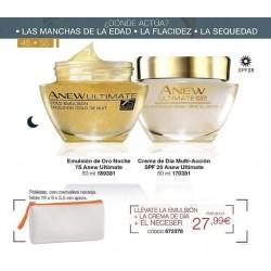 Pack Anew Ultimate dia/noche 7S 50+ Avon + REGALO