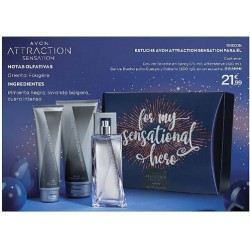 Estuche Avon Attraction Sensation para El
