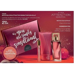 Estuche Avon Attraction Sensation para Ella