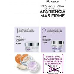 Pack Sistema Dual Para Contorno De Ojos + Sérum Concentrado
